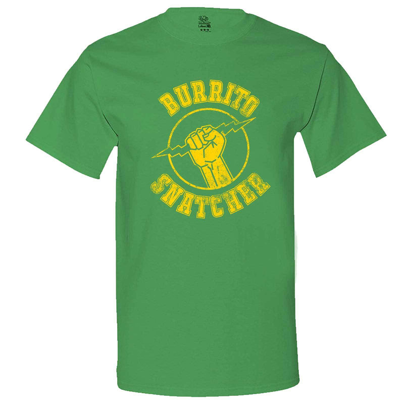 """Burrito Snatcher"" men's t-shirt Irish-Green"