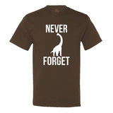 Never Forget Dinosaurs - Men's Tee