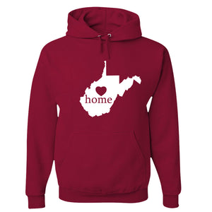 West Virginia Home Hoodie