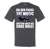 Driver Picks the Music - Men's T-Shirt