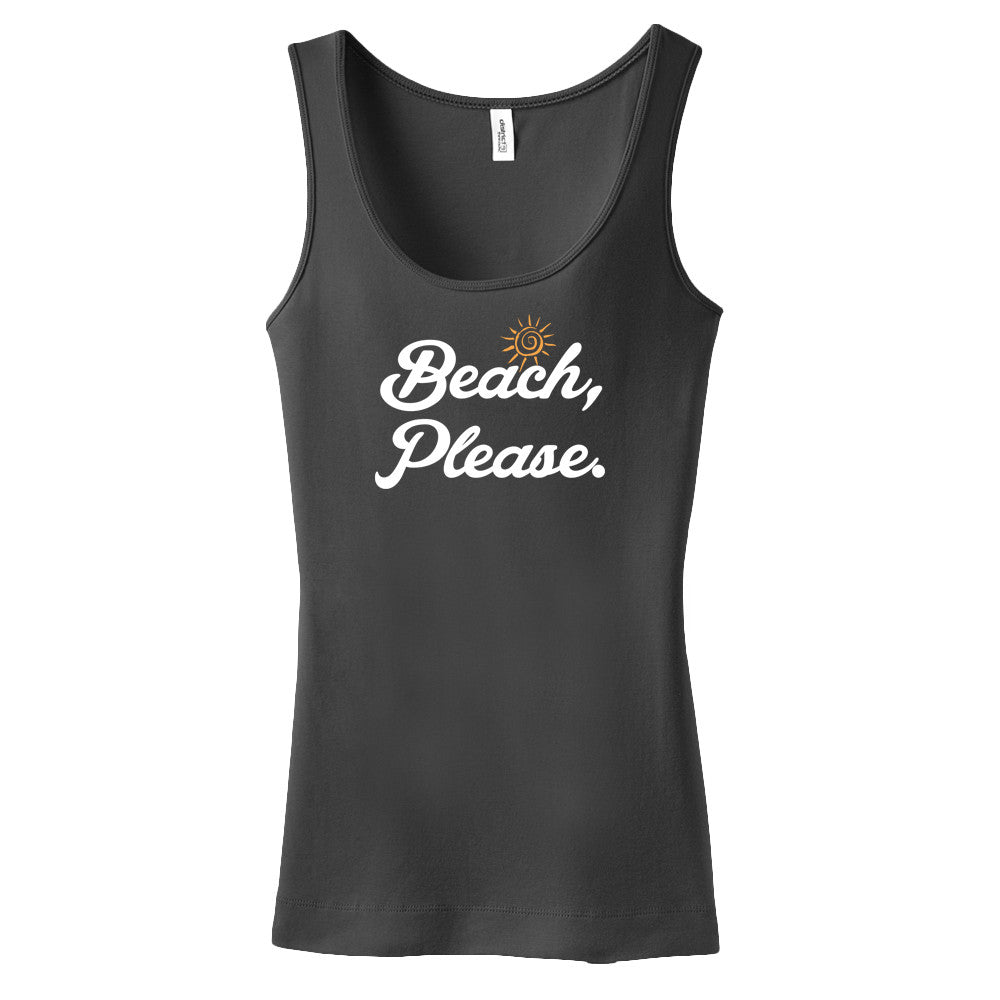 Beach Please - Tank Top