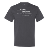 I Love Head (GF) Men's Tee