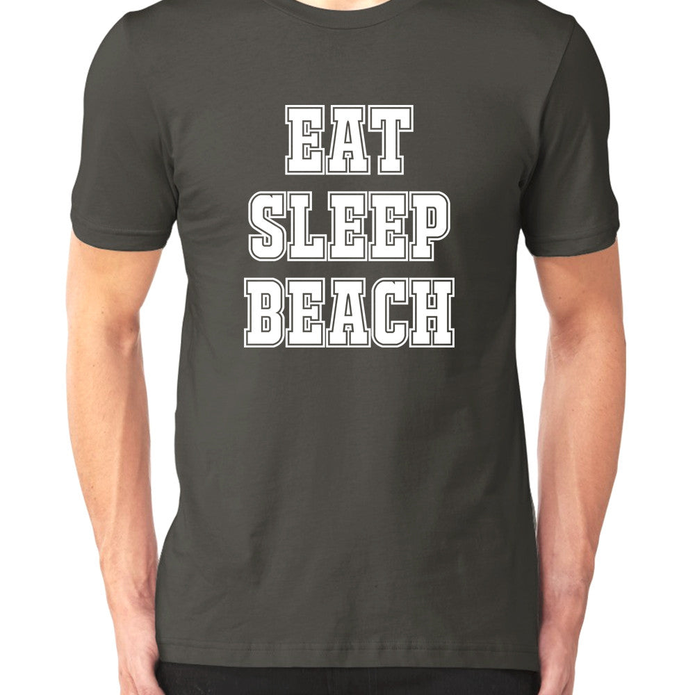Eat, Sleep, Beach - Men's T-Shirt