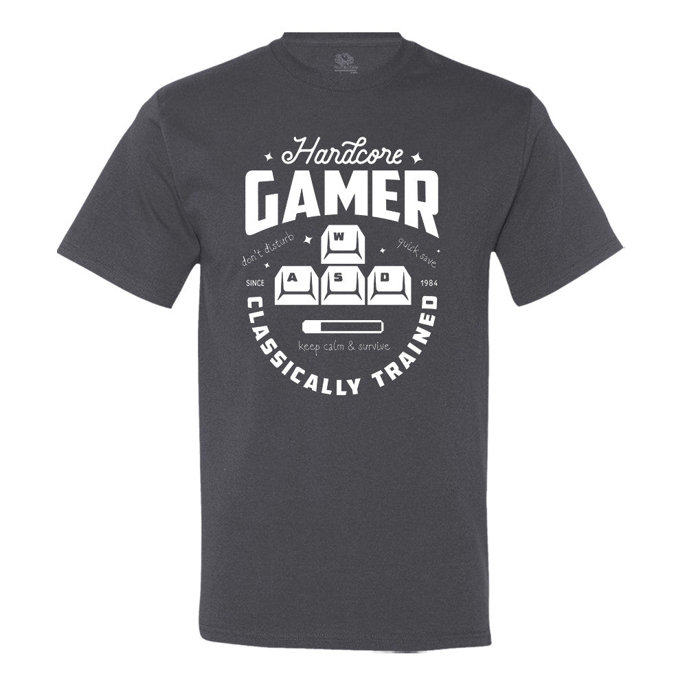 Hardcore.. Classically Trained Gamer - T-Shirt
