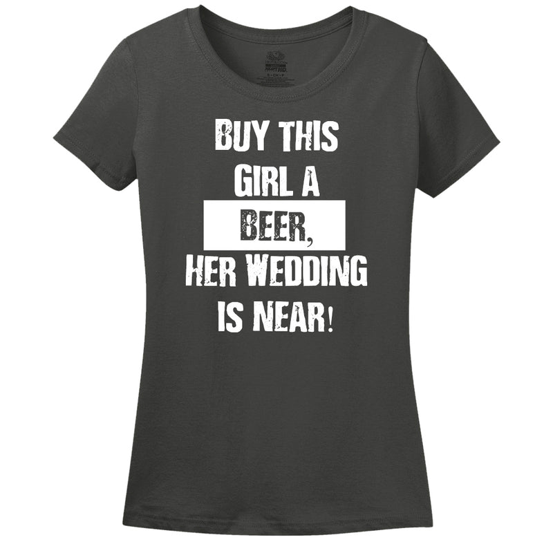 Buy This Girl A Beer, Her Wedding Is Near!
