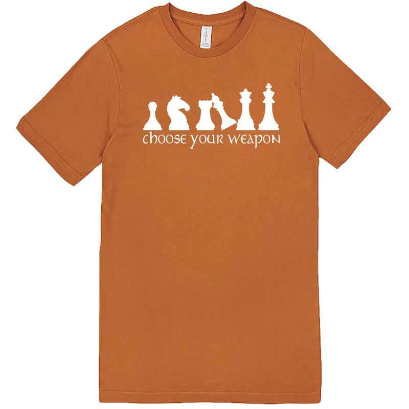 """Choose Your Weapon - Chess"" men's t-shirt Meerkat"