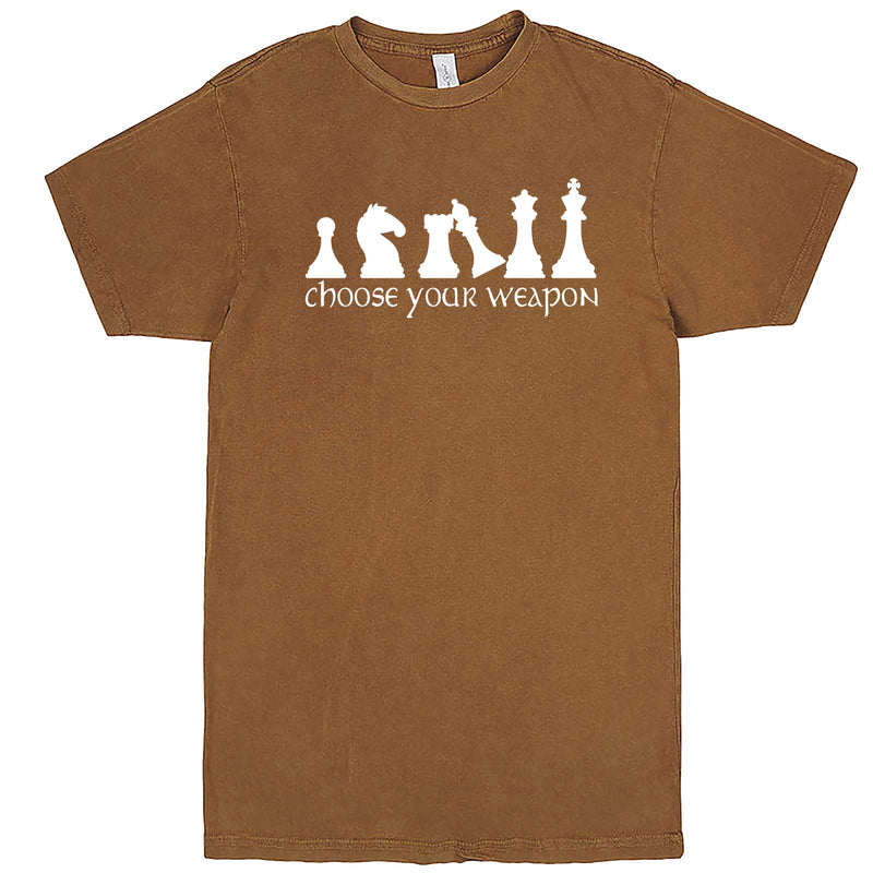 """Choose Your Weapon - Chess"" men's t-shirt Vintage Camel"