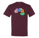 Anti-Candy Hearts Men's T-Shirt