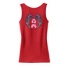 Breast Cancer Hope Wings Ladies Tank Top
