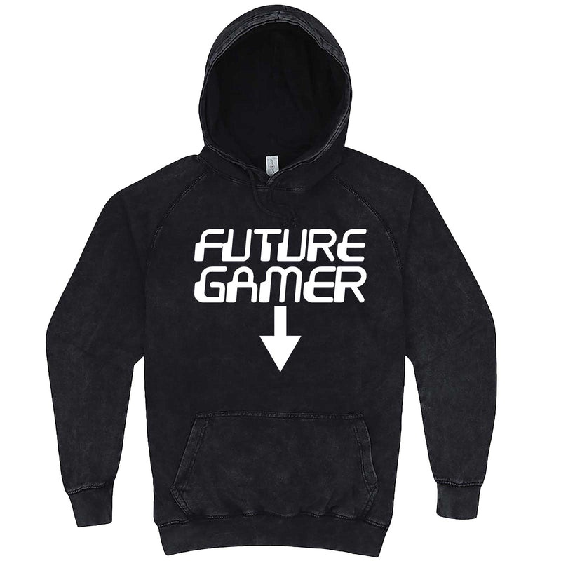"""Future Gamer"" hoodie, 3XL, Vintage Black"