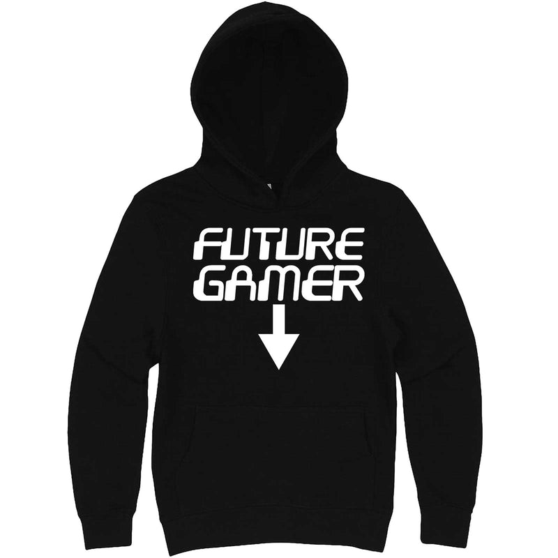 """Future Gamer"" hoodie, 3XL, Black"