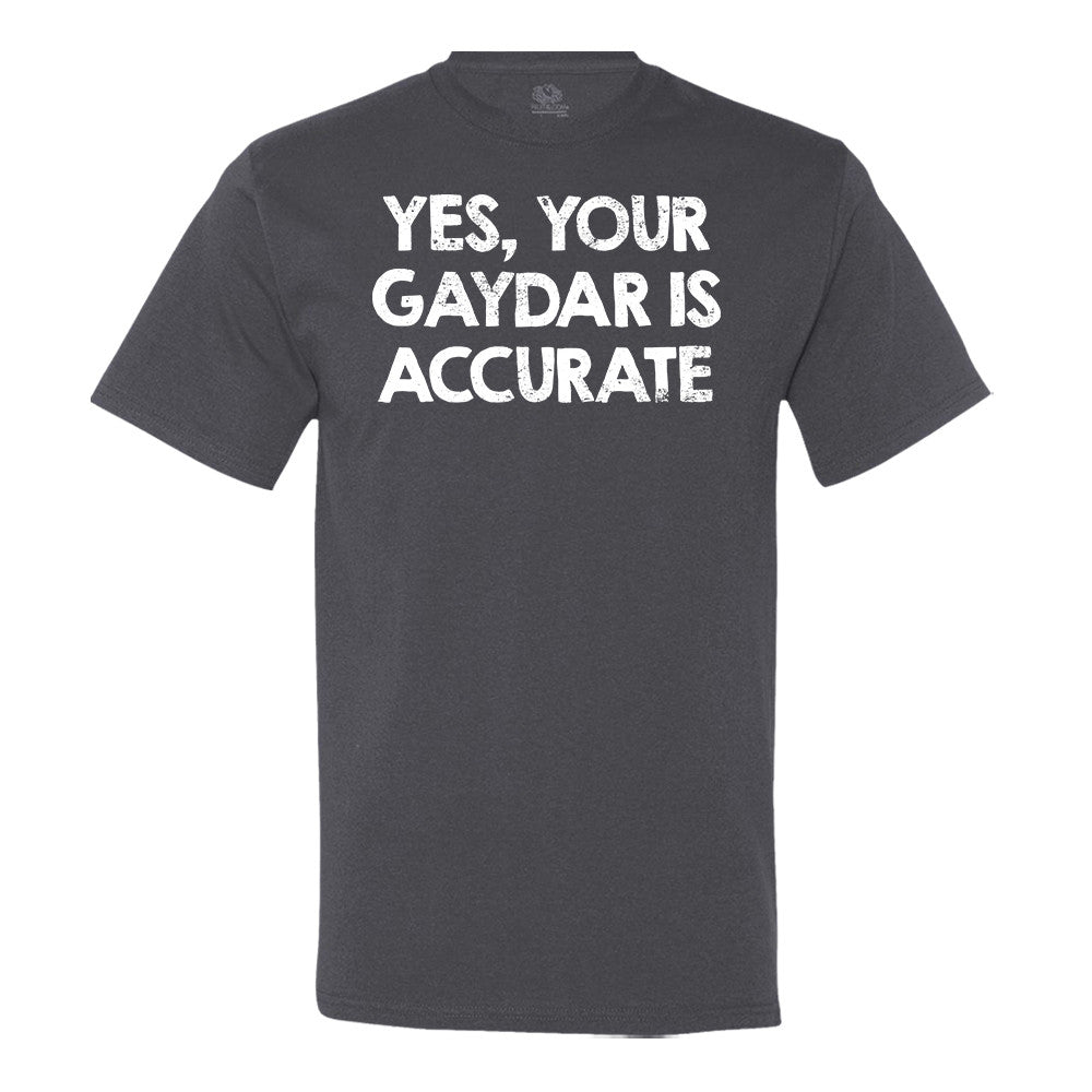 Yes, Your Gaydar Is Accurate T-shirt