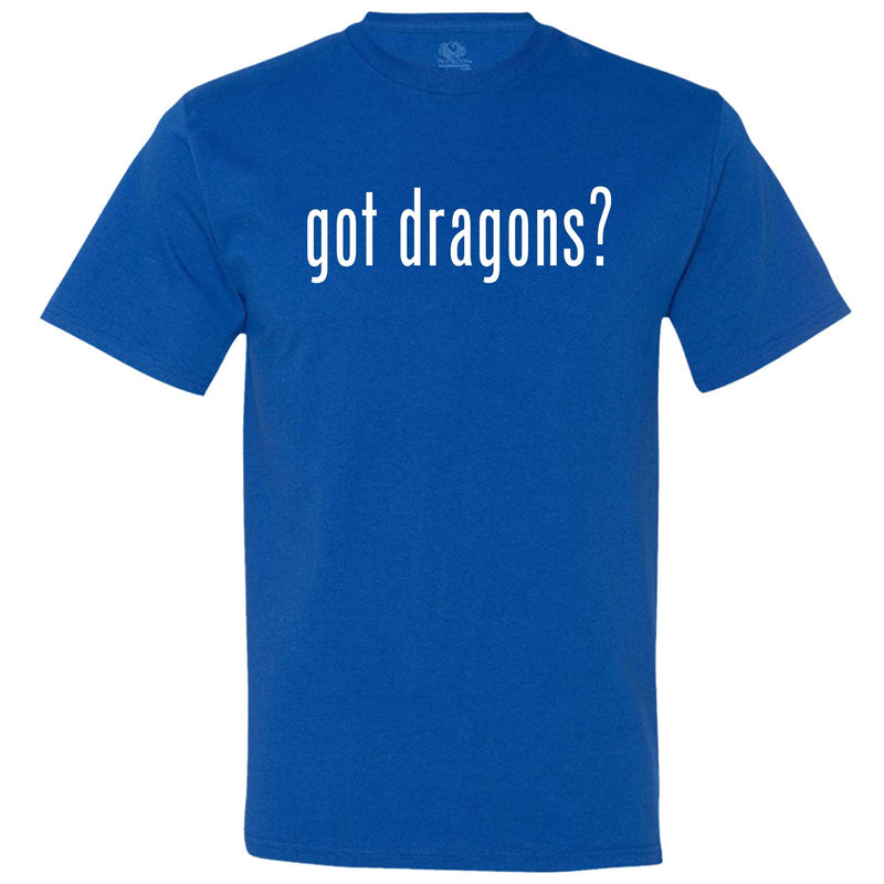 """Got Dragons?"" men's t-shirt Royal-Blue"