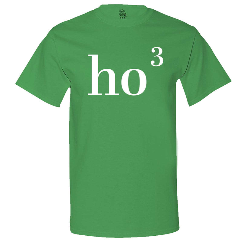 """Ho(3) Ho Ho"" men's t-shirt Irish-Green"