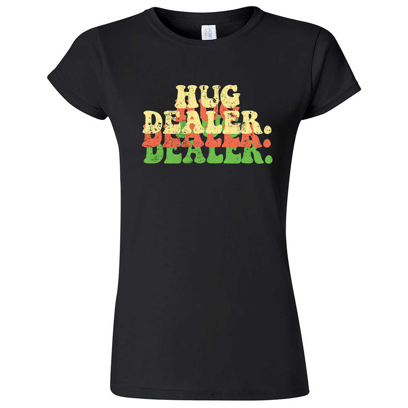 """Multiple Hug Dealer"" women's t-shirt Black"