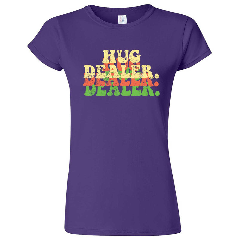 """Multiple Hug Dealer"" women's t-shirt Purple"