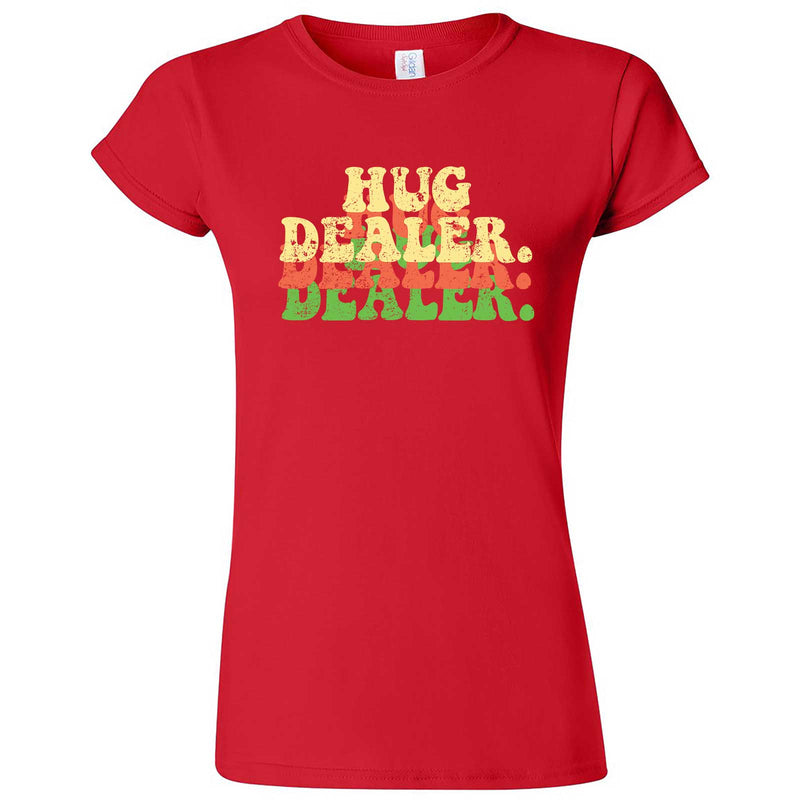 """Multiple Hug Dealer"" women's t-shirt Red"