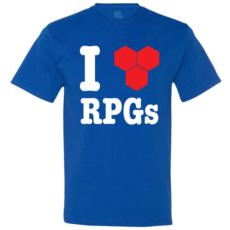 """I Love Role-Playing Games"" men's t-shirt Royal-Blue"
