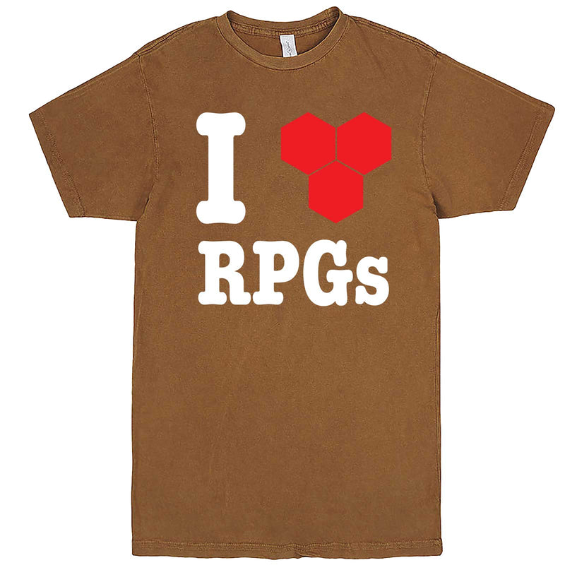 """I Love Role-Playing Games"" men's t-shirt Vintage Camel"