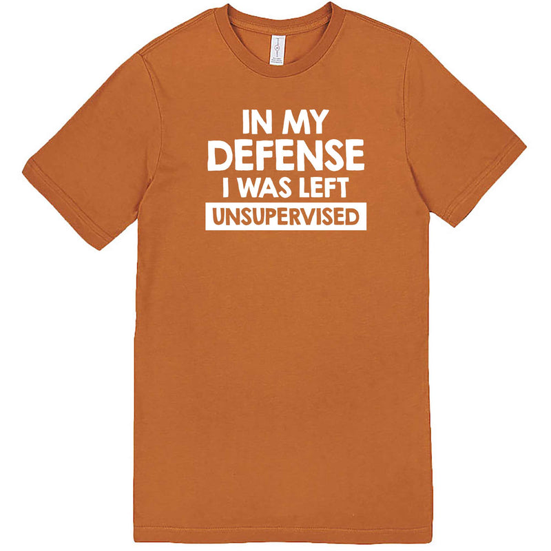 """In My Defense, I Was Left Unsupervised"" men's t-shirt Meerkat"