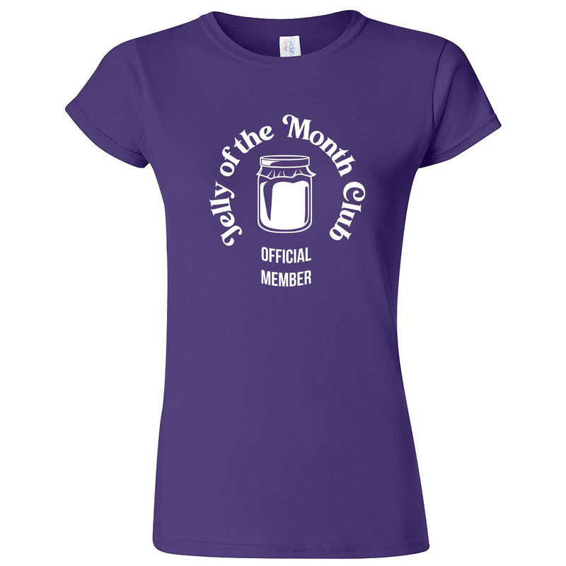 """Jelly of the Month Club"" women's t-shirt Purple"