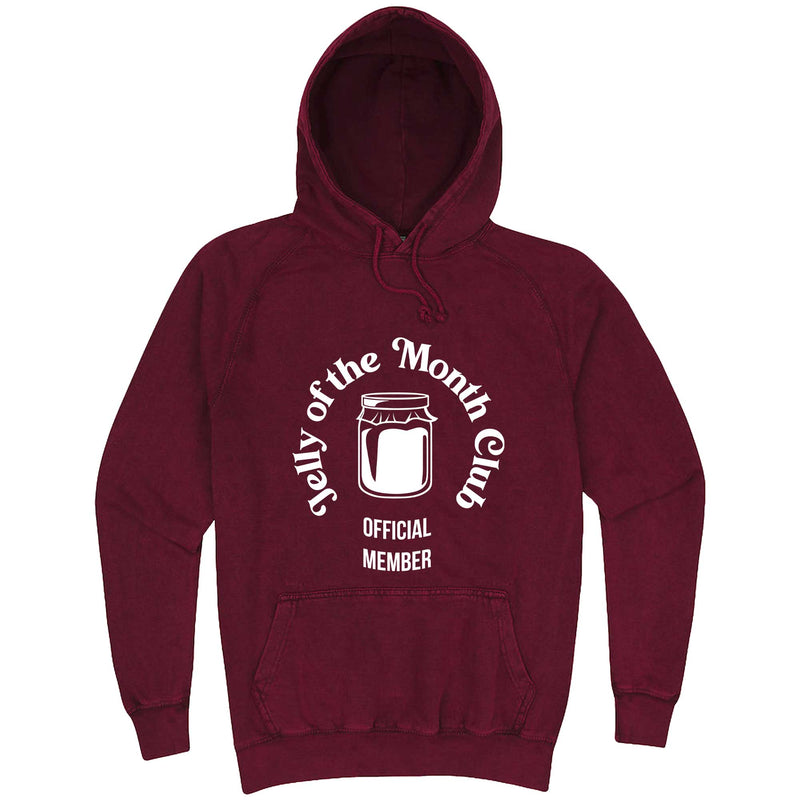 """Jelly of the Month Club"" hoodie, 3XL, Vintage Brick"