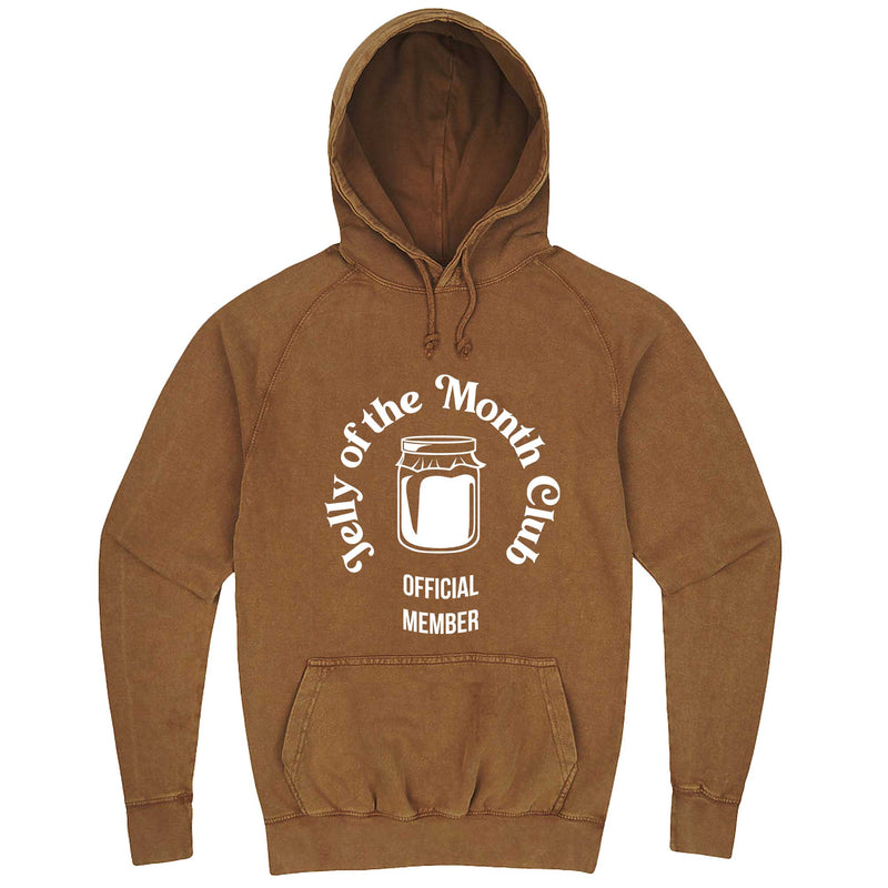 """Jelly of the Month Club"" hoodie, 3XL, Vintage Camel"