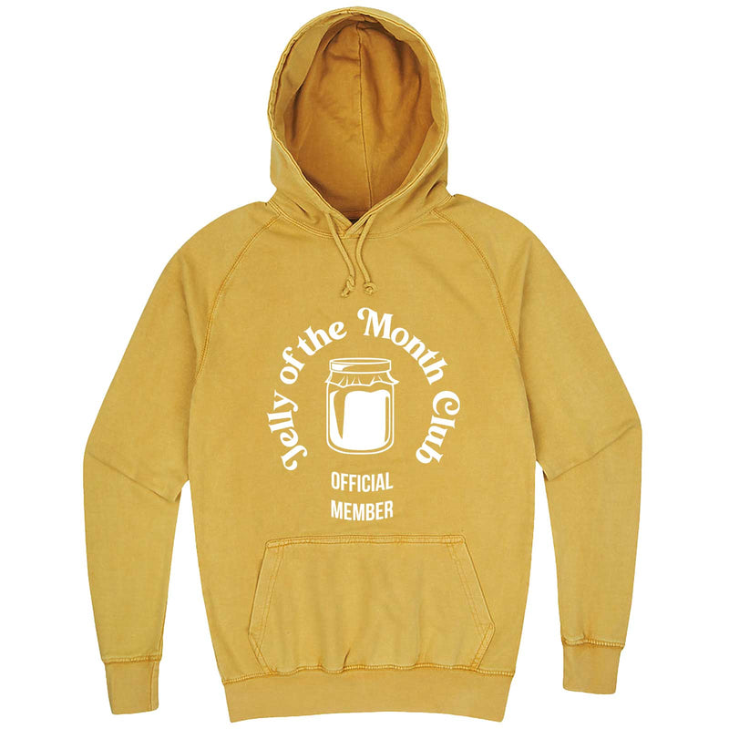 """Jelly of the Month Club"" hoodie, 3XL, Vintage Mustard"