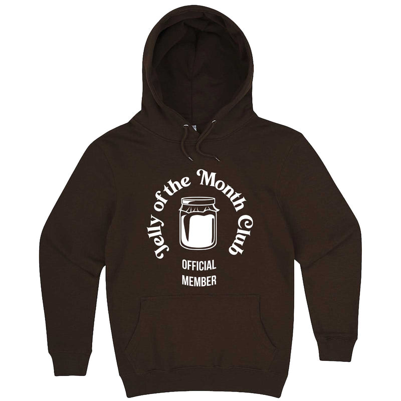 """Jelly of the Month Club"" hoodie, 3XL, Chestnut"