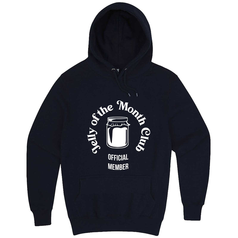 """Jelly of the Month Club"" hoodie, 3XL, Navy"