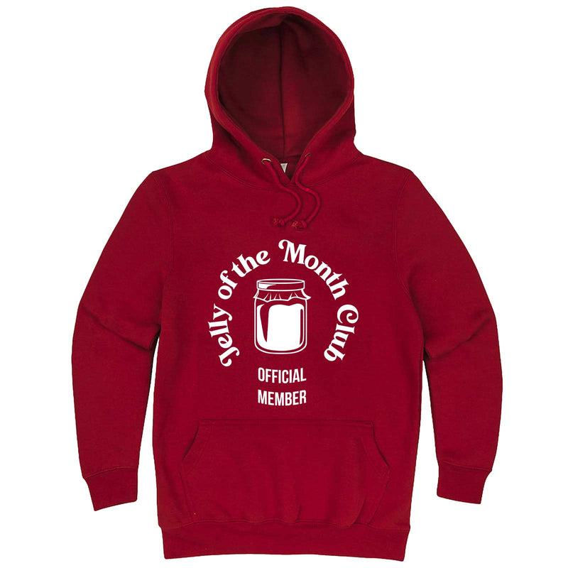 """Jelly of the Month Club"" hoodie, 3XL, Paprika"