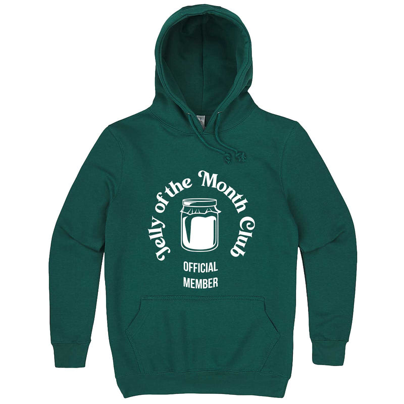 """Jelly of the Month Club"" hoodie, 3XL, Teal"
