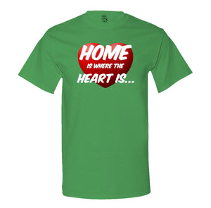 Home Is Where The Heart Is Mens Tee
