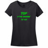 Top Of The Mornin' To Ya! Womens Tee