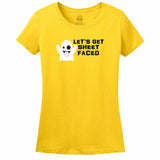 Let's Get Sheet Faced Women's T-Shirt