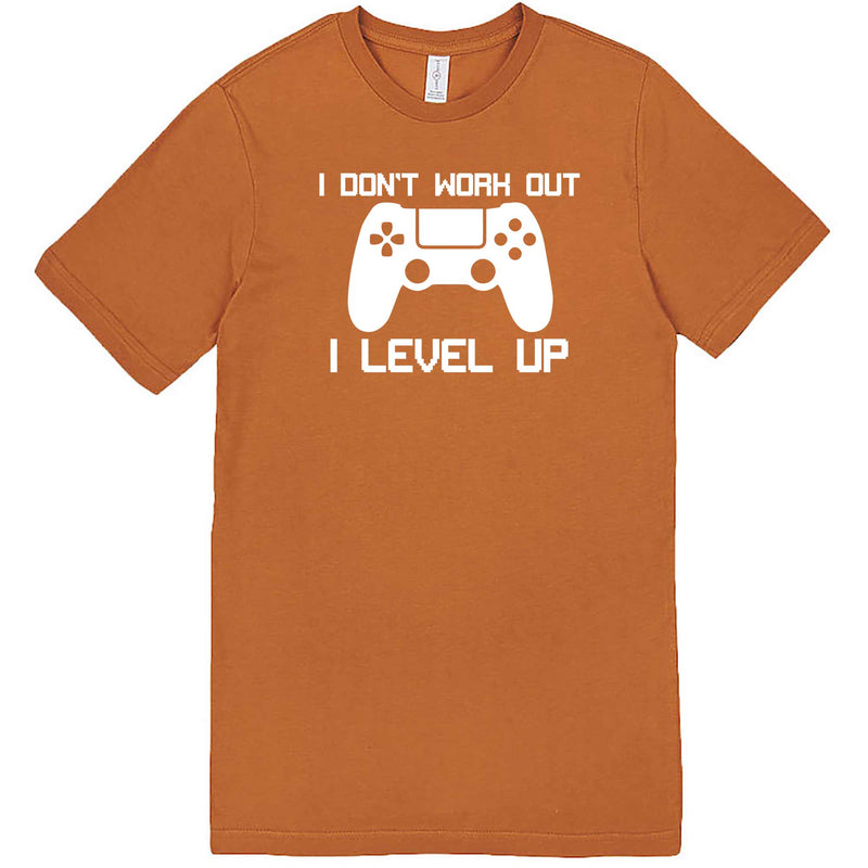 """I Don't Work Out, I Level Up - Video Games"" men's t-shirt Meerkat"