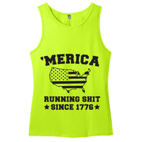 'Merica - Running Shit - Men's Tank Top