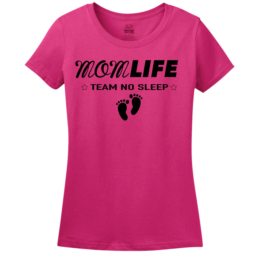 Mom Life - Team No Sleep - Women's T-Shirt