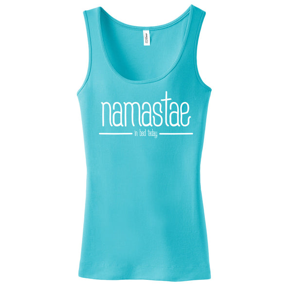 Namastae in bed today Tank Top