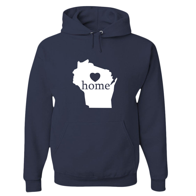 Wisconsin Home State Pride Hoodie