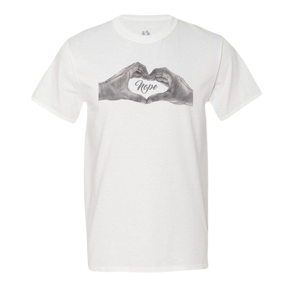 Nope Heart Men's T-Shirt