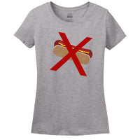 No Hot Dog T-shirt