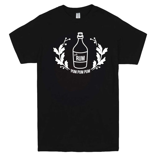 """Pah Rum Pum Pum Pum"" men's t-shirt Black"