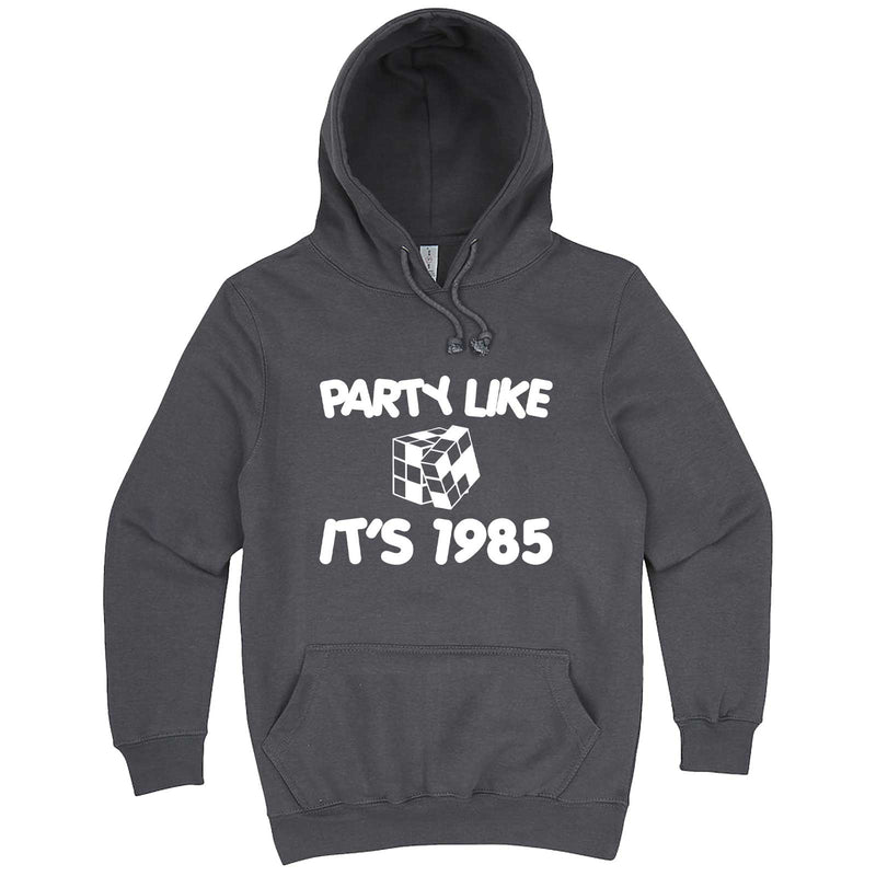 """Party Like It's 1985 - Puzzle Cube"" hoodie, 3XL, Storm"