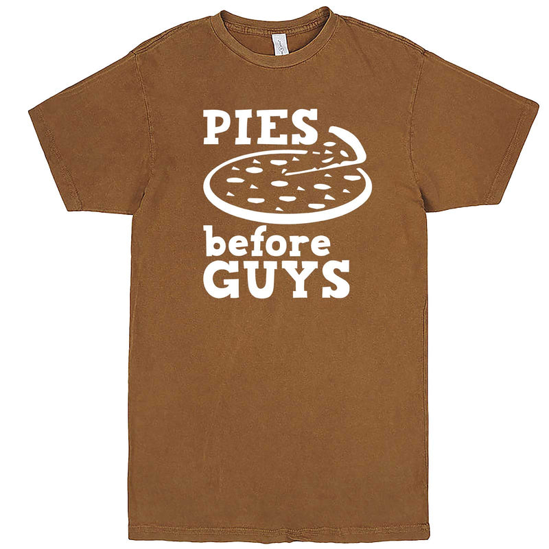 """Pies Before Guys"" men's t-shirt Vintage Camel"
