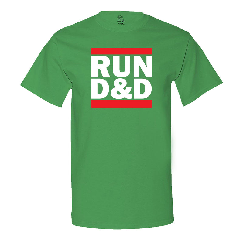 """Run D&D"" Men's Shirt Irish-Green"