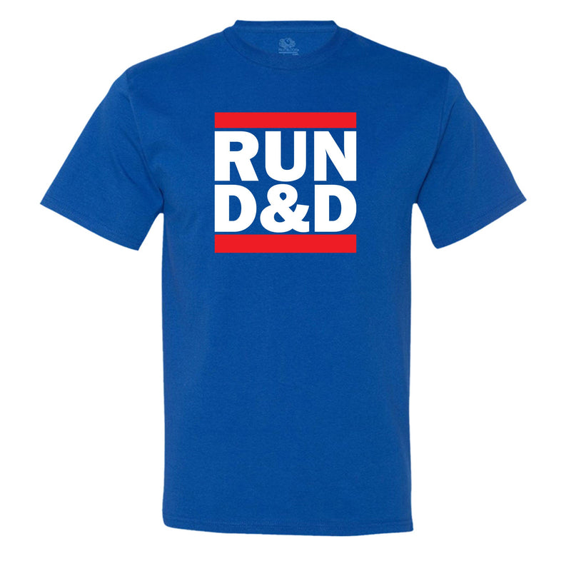 """Run D&D"" Men's Shirt Royal-Blue"