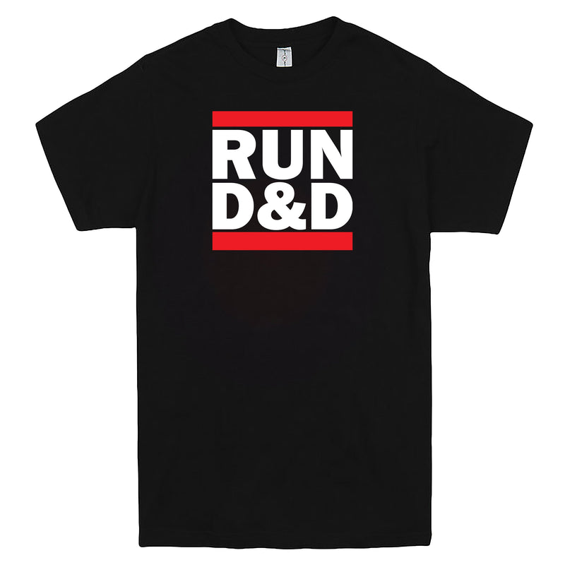 """Run D&D"" Men's Shirt Black"
