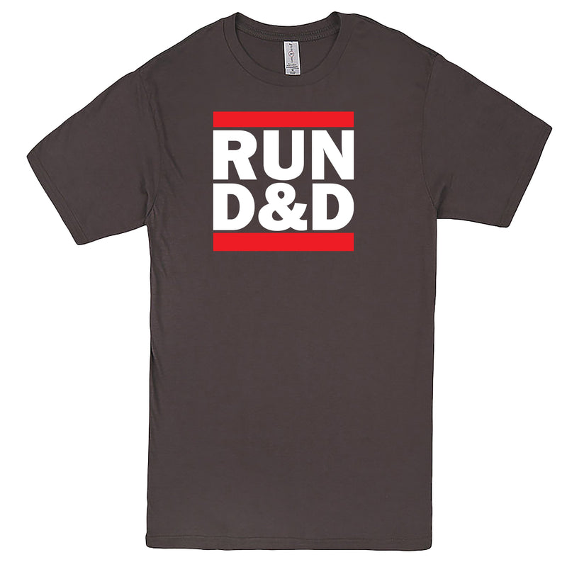 """Run D&D"" Men's Shirt Charcoal"