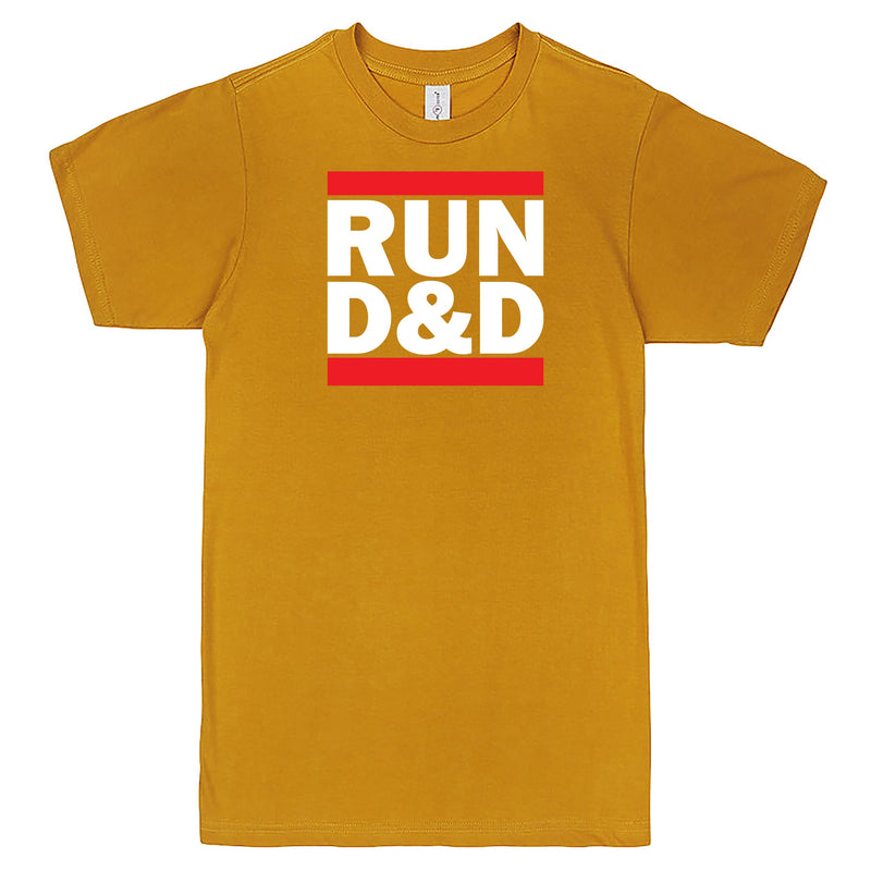 """Run D&D"" Men's Shirt Mustard"